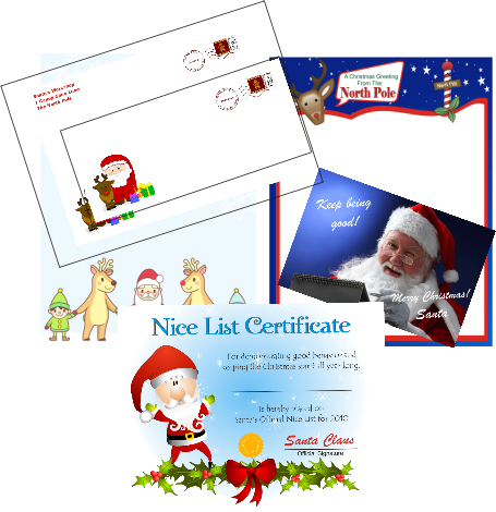 best printable santa letter site for variety