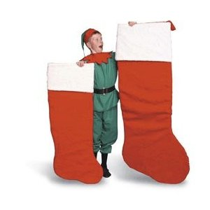 unique christmas stockings - giant stocking