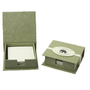 eco christmas gifts - elephant poo poo paper