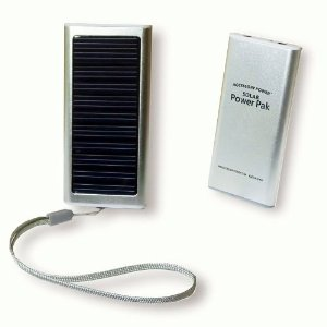 eco christmas gifts - solar ipod charger