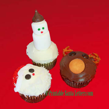 easy christmas cupcake ideas for kids